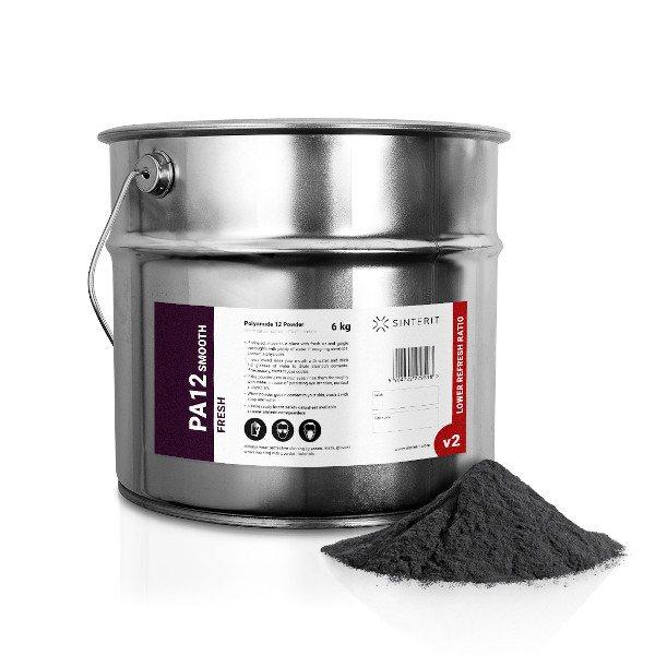Sinterit PA12 Smooth Fresh Powder - 6KG (12L) Container